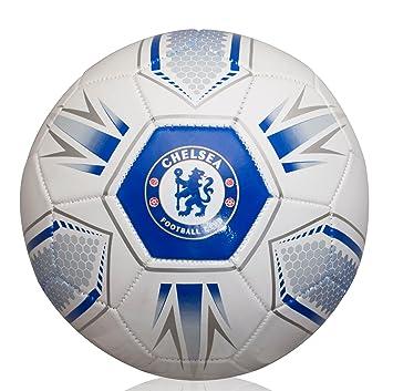 Chelsea FC Balón de fútbol hexagonal, Unisex, Hex, blanc y azul ...