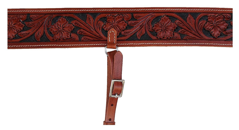 Challenger Tack Horse Western Carved Leather Rear Flank Back Cinch Girth Saddle Billets 9774-80