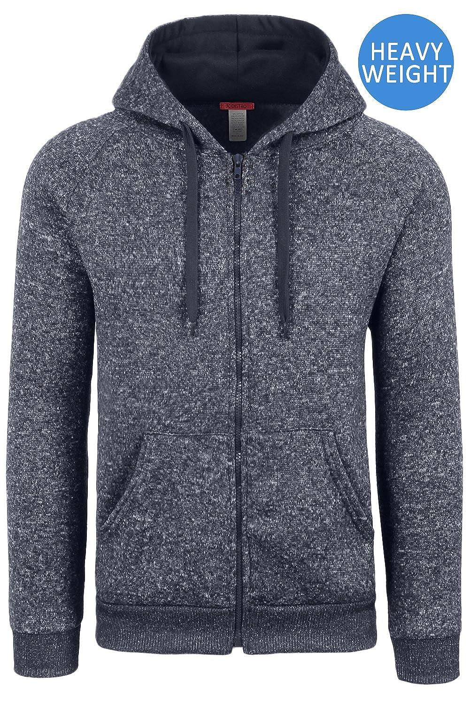 JC DISTRO Men's Raglan Hooded Unisex Zip-up Fleece Hoodie Jacket (Big Size Upto 5XL)