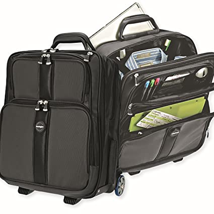 Image Unavailable. Image not available for. Color  Kensington Overnight  Rolling Laptop Bag ... 2199b9a593d66