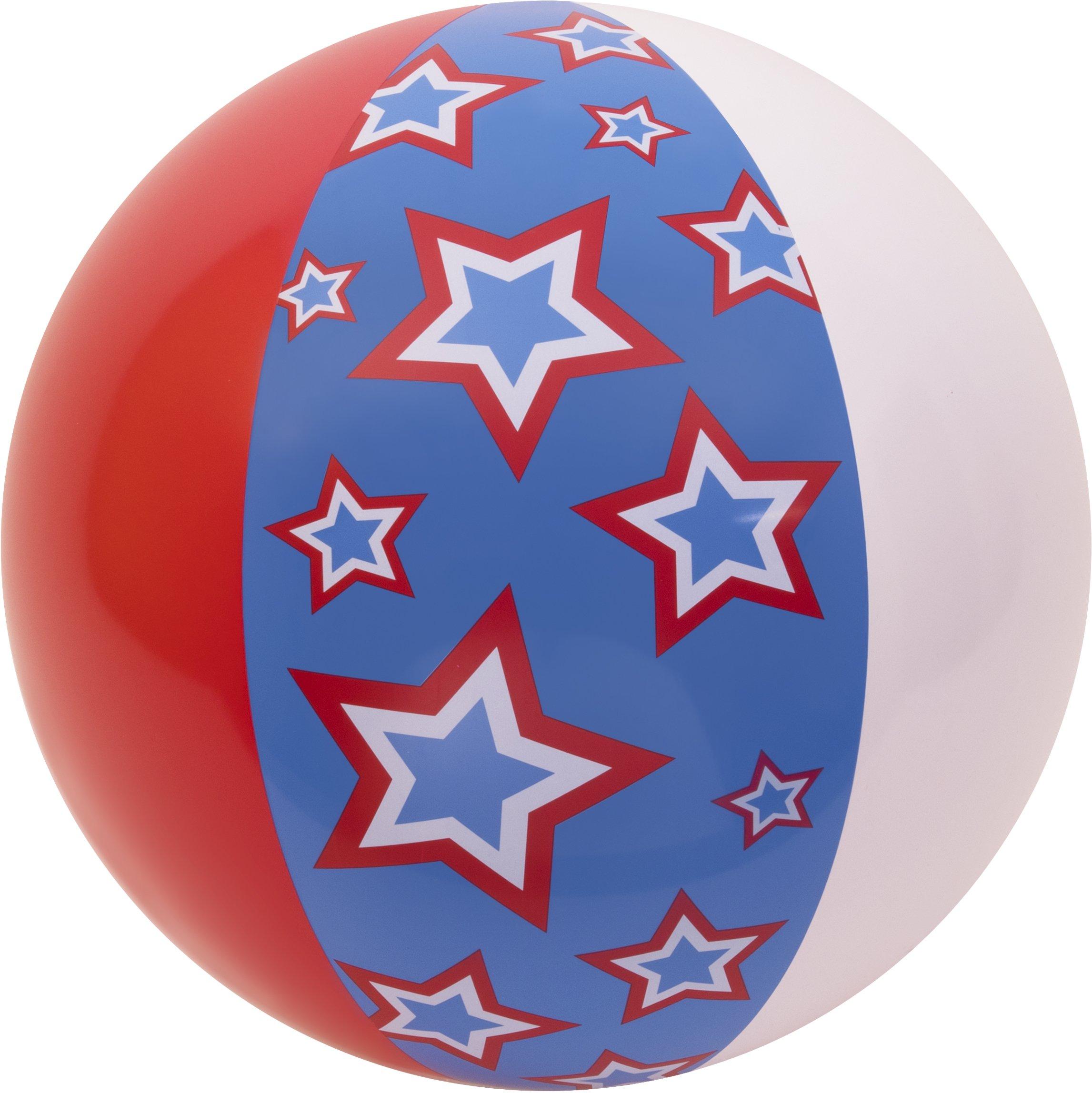 "Coconut Float's Stars & Stripes Beach Ball 27"""