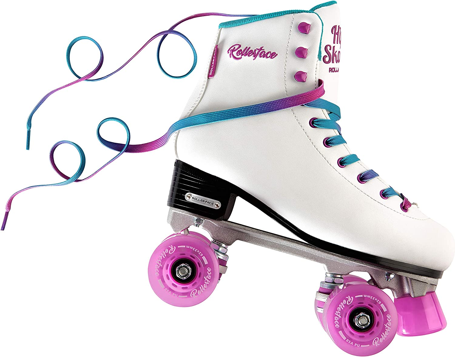 Portland Mall Superior Rollerface HipSkates White Women's Classic Artistic Roller and
