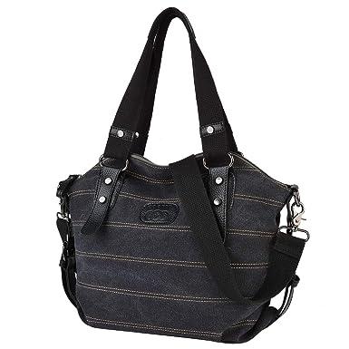 e321d3bf49bb Amazon.com  Tote Bag Fashion Large Capacity Casual Handbag Shoulder Bag for  Women  COOFIT
