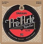 D'Addario ダダリオ クラシックギター弦 プロアルテ Silver/Clear Normal EJ45 【国内正規品】