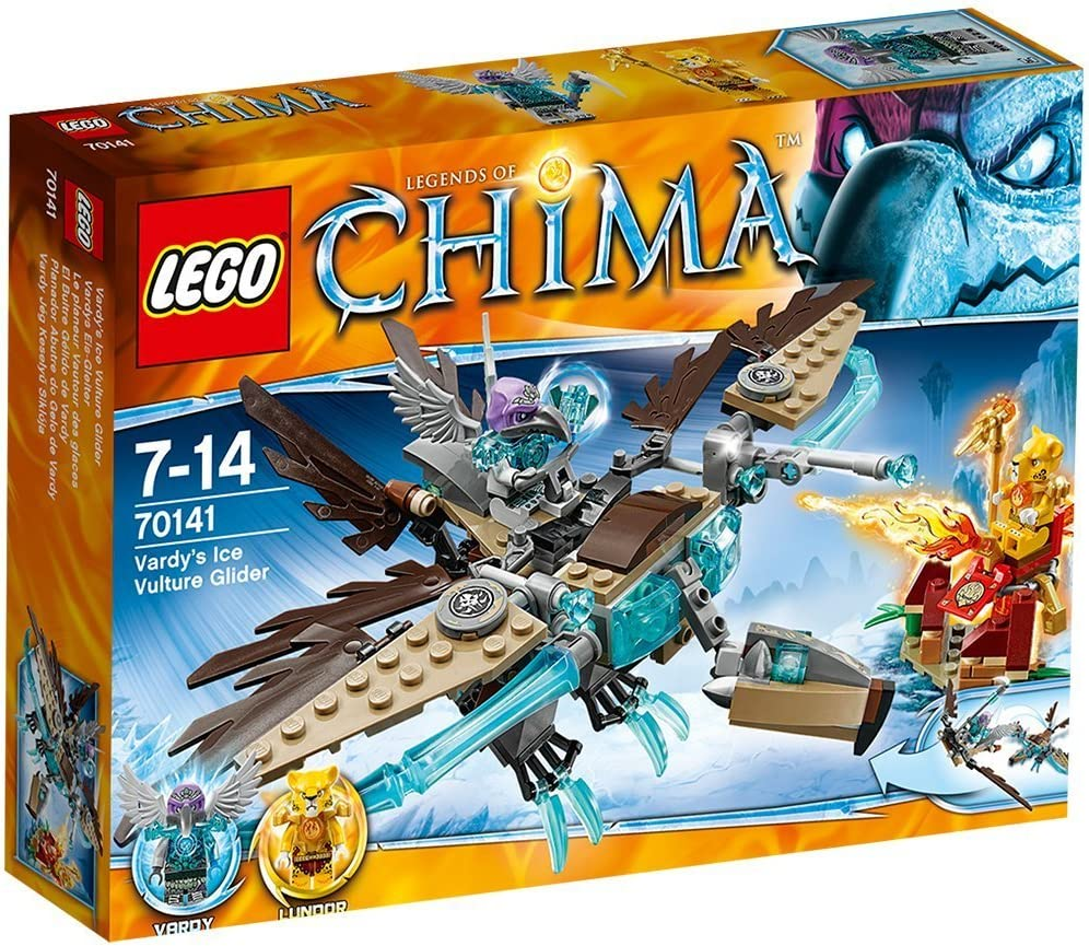 LEGO Legends of Chima 70141: Vardys Ice Vulture Glider