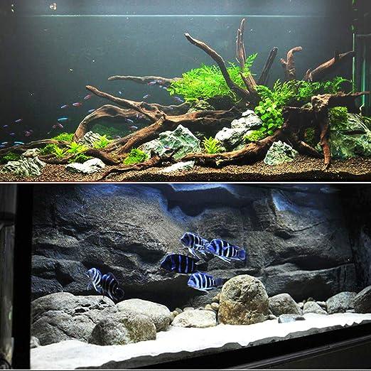 Hengda Luz LED Acuario Ajustable Acuarios Plantados Lámpara impermeable Acuarios Plantados Lámpara Mejor para El Tanque de Peces de 45-60CM