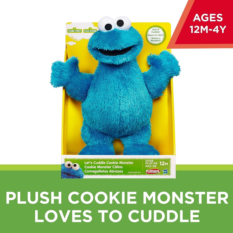 04bd27745cd367 Amazon.com  Sesame Street Playskool Let s Cuddle Cookie Monster Plush  (Amazon Exclusive)  Toys   Games