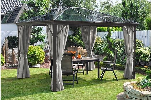 Leco cenador, medidas: 300 x 365 cm: Amazon.es: Jardín