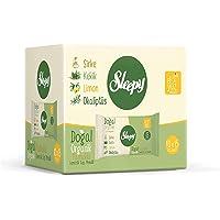 Sleepy Doğal Organik Pamuklu Cep Mendili, 10'lu paket, 150 Yaprak