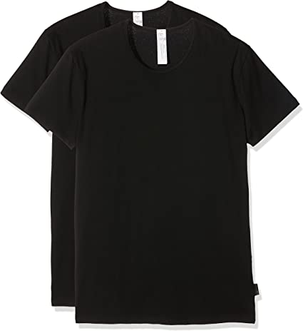 TALLA XX-Large (Talla del fabricante: 6). Sloggi Camiseta sin Mangas (Pack de 2) para Hombre