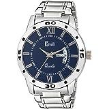 Cavalli Ar-101-Blu Date N Day Analogue Blue Dial Men's Watch - Cs2543