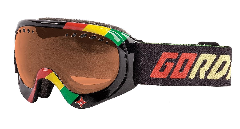 GG35PM-BLKRST Gordini Triumph Goggle Black Rasta