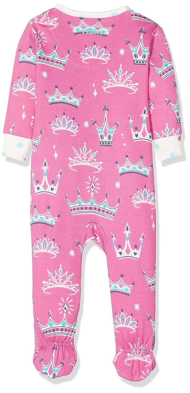 Hatley Baby-M/ädchen Organic Cotton Footed Sleepsuit Schlafstrampler