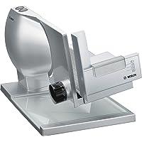Bosch MAS9454M Cortafiambres, 300 W, 0.4, Aluminio, Plateado metálico