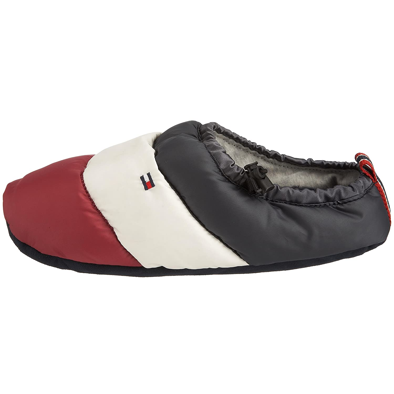 fab0a4c222b8 Tommy Hilfiger Men s Down Slipper 1 Slipper Midnight FM8FS01014 Small   Amazon.co.uk  Shoes   Bags