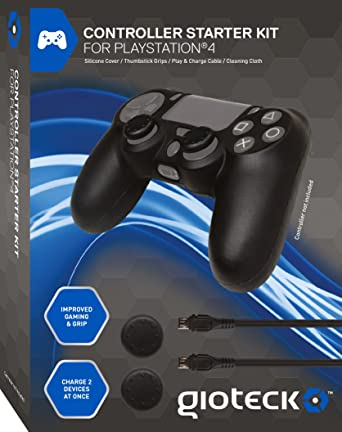 Gioteck - Controller Starter Kit (PlayStation 4): Amazon.es ...