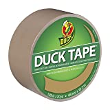 Duck Brand 283264 Color Duct Tape, Beige, 1.88