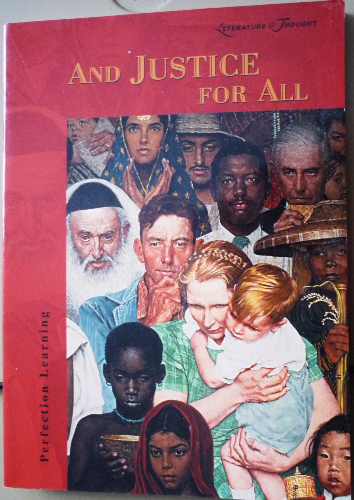 Download Literature & Thought: And Justice for All (Cover-To-Cover Books) pdf