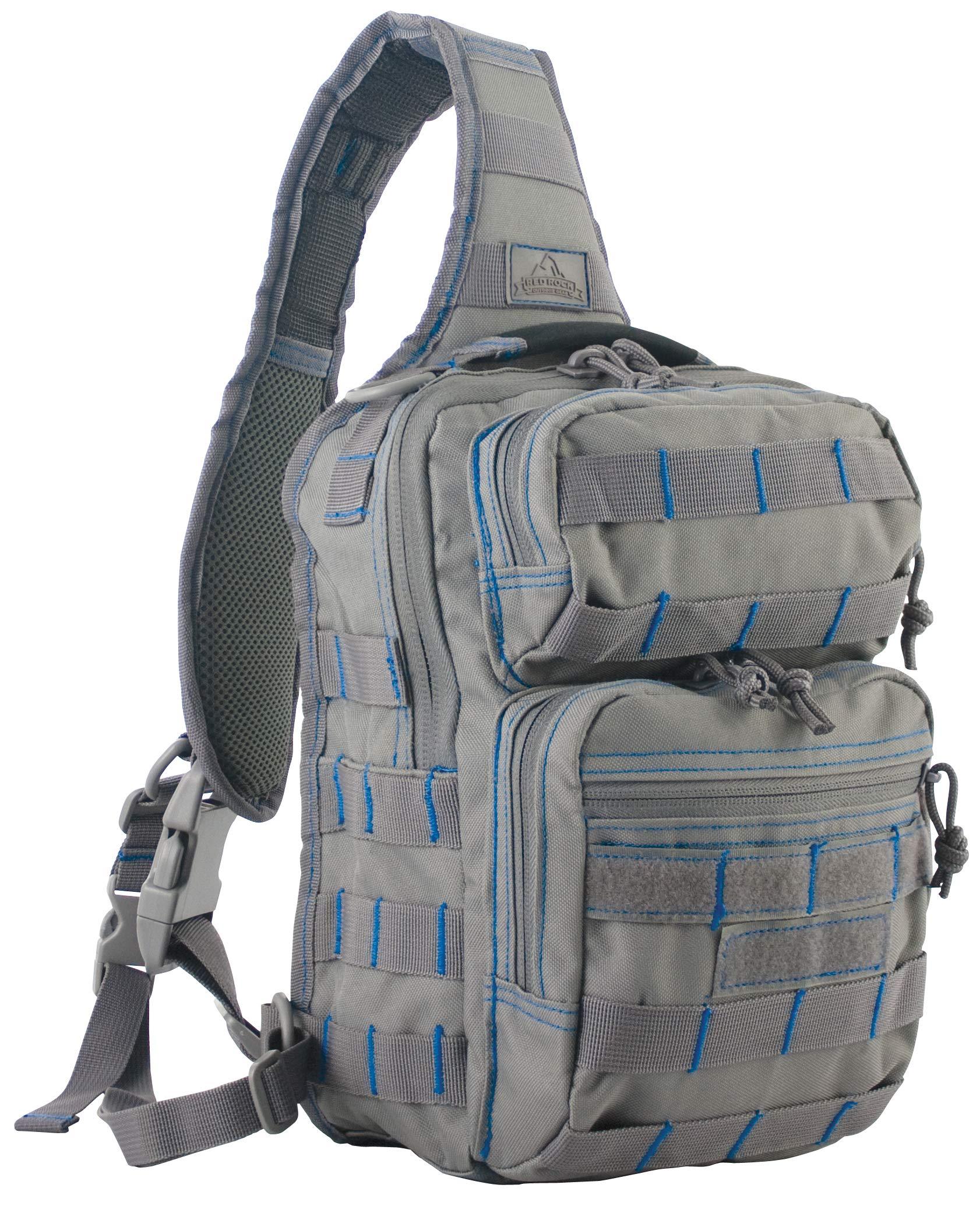 Red Rock Outdoor Gear Rover Sling Pack Tornado/Blue