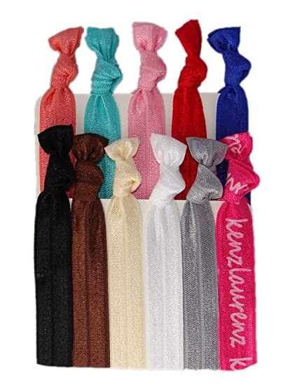 Amazon.com   No Crease Hair Ties - 10 Pack By Kenz Laurenz   Beauty 86418435341