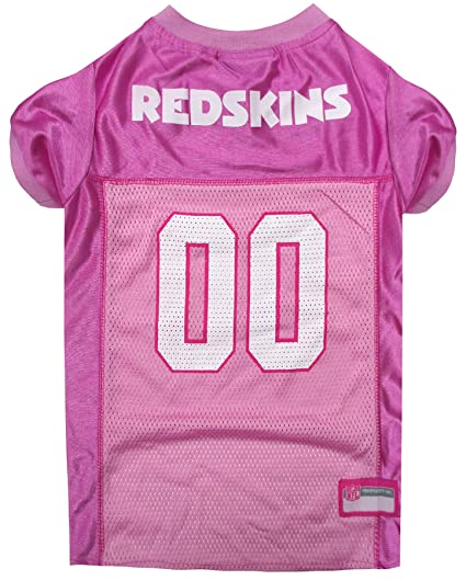 pink redskins jersey