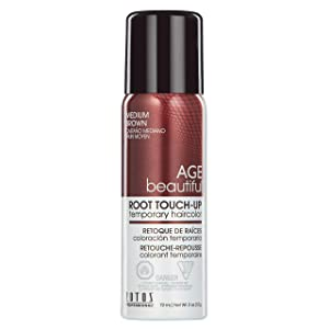 AGEbeautiful Root Touch-Up, Medium Brown, 2-Ounce