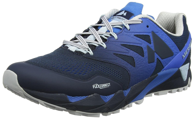 Merrell Agility Peak Flex 2 E-Mesh, Zapatillas de Running para Asfalto para Hombre 45 EU|Azul (Directoire Blue Directoire Blue)