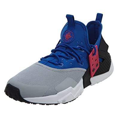 innovative design 0a290 6337d Image Unavailable. Image not available for. Color  Nike Air Huarache Drift  Lifestyle Mens Sneakers (9, Royal White Wolf Grey
