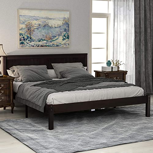 Bed Frame Queen Platform Bed