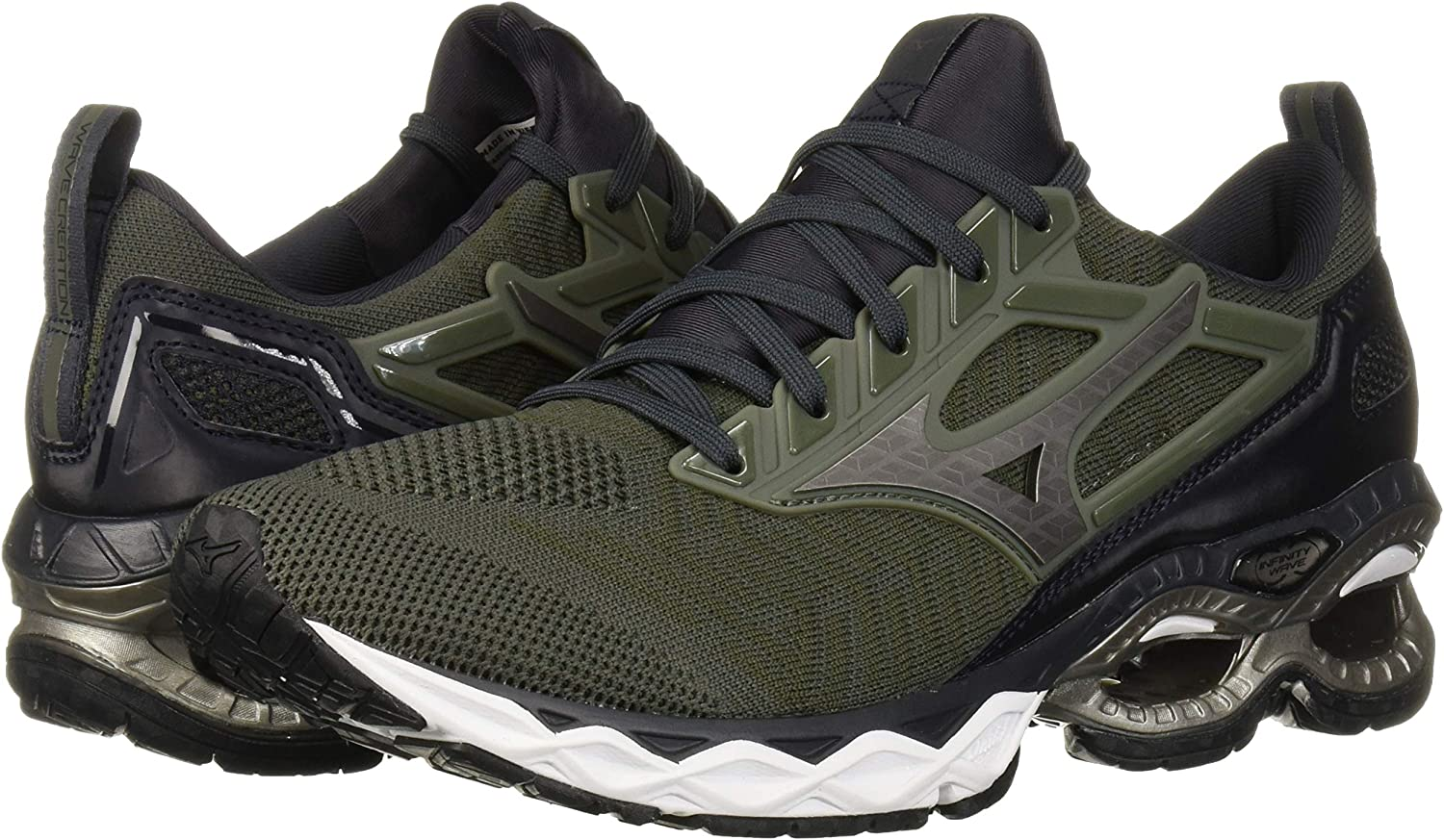 Mizuno Wave Creation 20 - Zapatillas de correr para hombre: Amazon ...