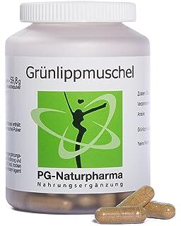 Mejillón de labios verdes (Green lipped mussle) - 120 cápsulas con extracto de mejillón