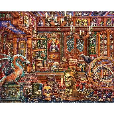Springbok's 500 Piece Jigsaw Puzzle Magic Emporium: Toys & Games