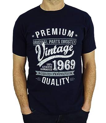 1969 Vintage Year Aged To Perfection 50 Geburtstag Geschenk T