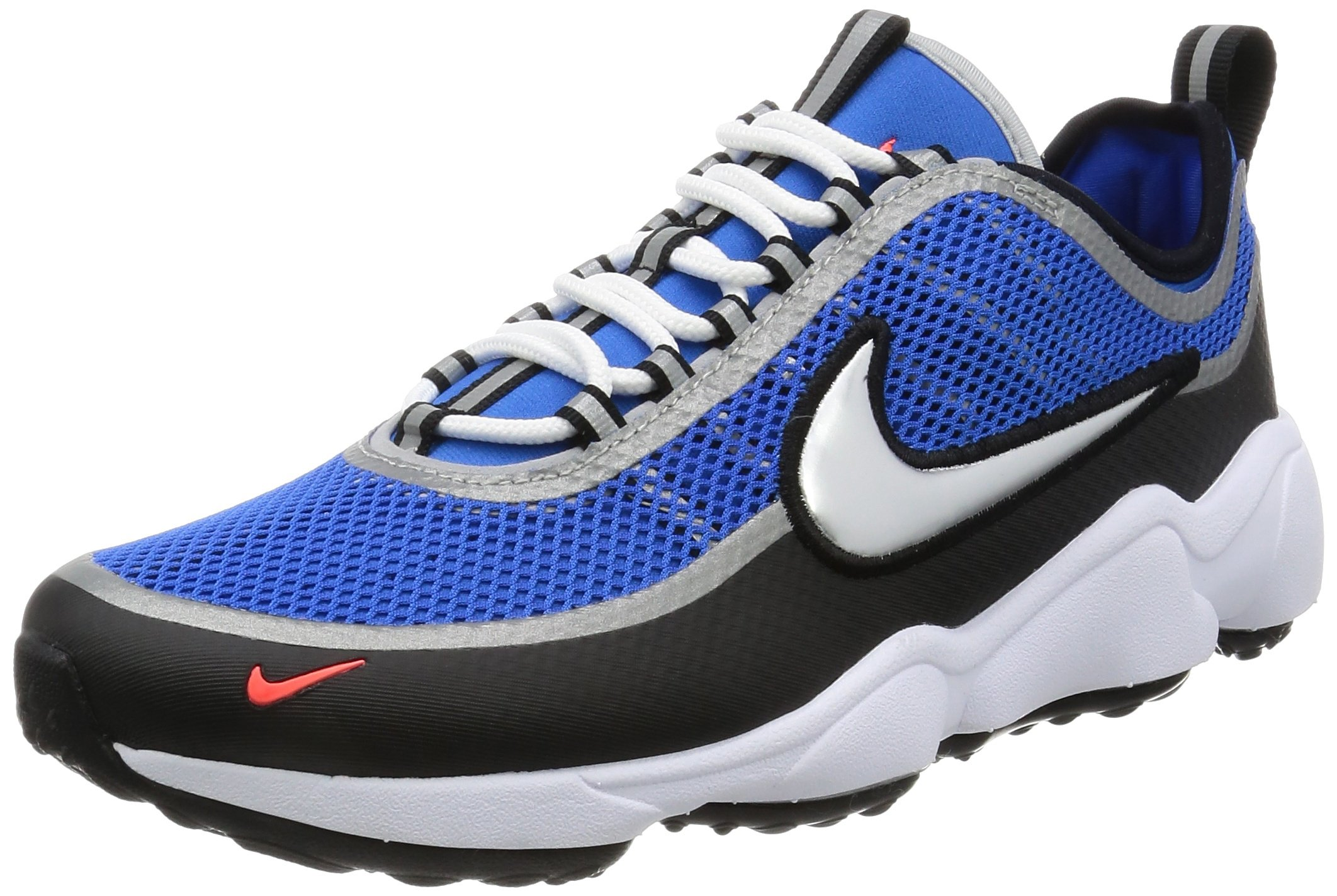 Nike Zoom Spiridon Ultra Men's Shoes SPRDN Regal BlueBlackCrimsonMetallic Silver 876267 400 (9 D(M) US)