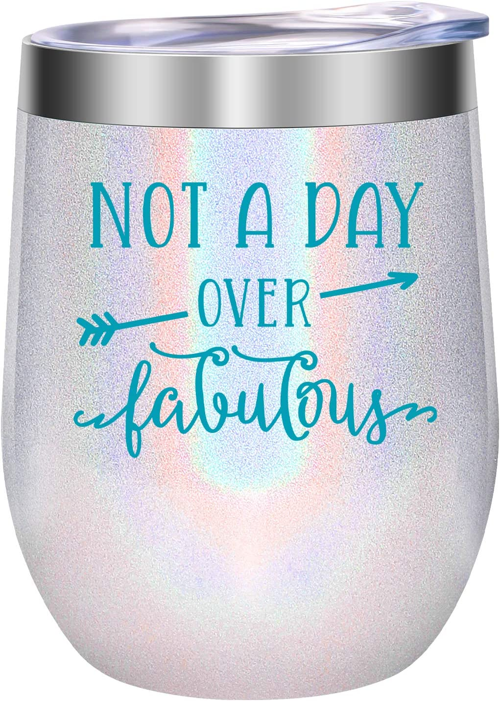 Amazon Com Birthday Gifts For Women Friends Female Funny Christmas Birthday Wine Gifts Ideas For Her Best Friend Mom Daughter Grandma Sister Aunt Coworker Leado Not A Day Over Fabulous Wine