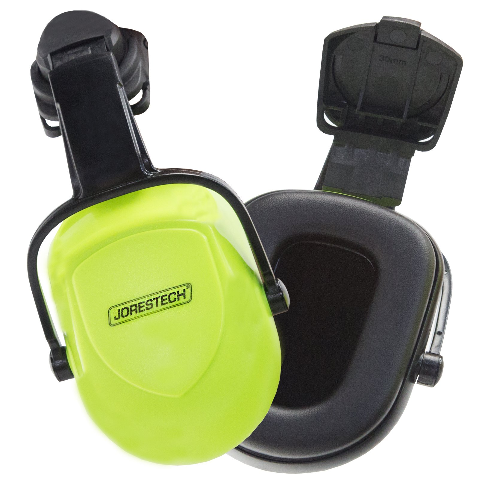 JORESTECH High Performance Noise Cancelling Hard Hat Ear Muffs With Universal Mount For Slotted Helmets