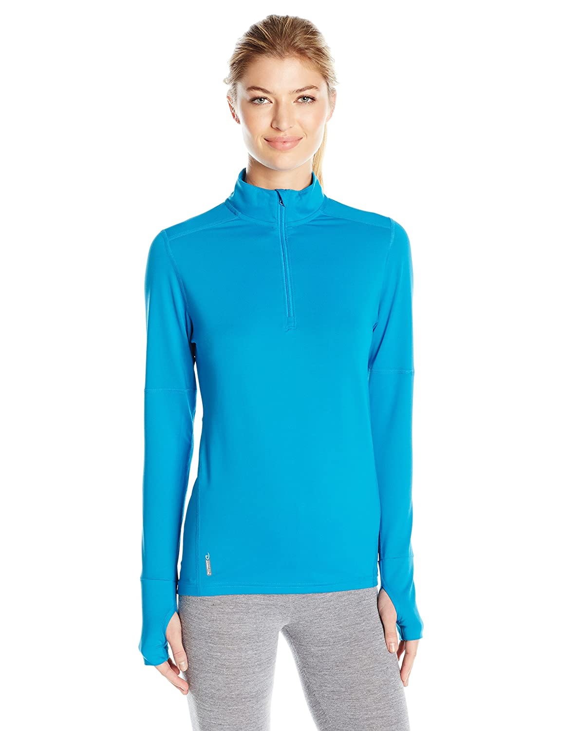 Layering /& Thermals KDC3Q Duofold Womens Light Weight Thermatrix Performance Thermal Quarter Zip Pullover Duofold Women/'s Sleepwear