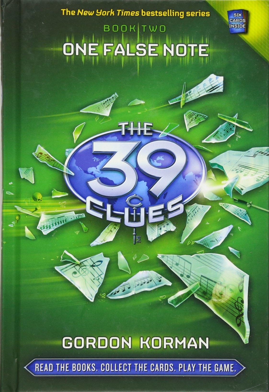One False Note (the 39 Clues, Book 2): Gordon Korman: 9780545060424:  Amazon: Books
