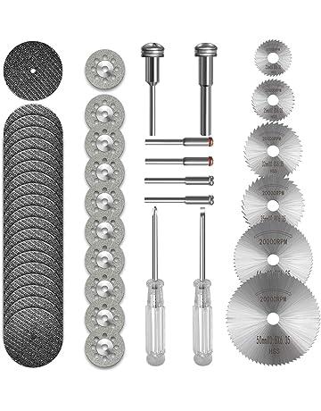 8PCS 50mm Sharp Cutting Off Wheel Discs Rotary Tool Power Drills Set 2 Arbors