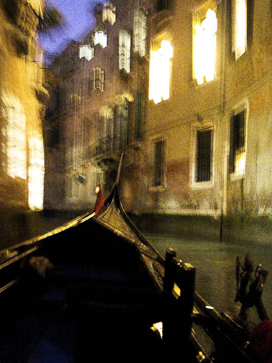 Venice, Night Canal no. 1 by