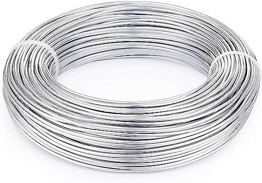 10m//rollo de los cables de la fabricación de joyas artesanías de alambre de aluminio 1mm