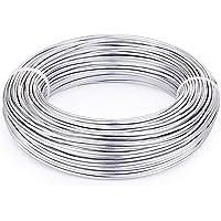 PandaHall Alambre de Aluminio para Hacer Pulseras Collares