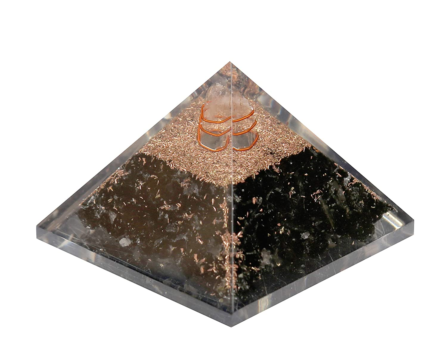 We assure the quality only when you buy from Collection 3 and 3 Inches Aatm Energy Generator Black Tourmaline Orgone Pyramid for EMF Protection Chakra Healing Meditation with Crystal and Copper