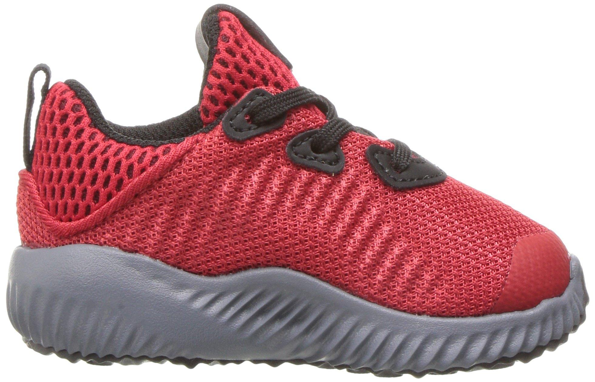 adidas Kids' Alphabounce Sneaker, Scarlet/Satellite/Black, 8 M US Toddler by adidas (Image #7)