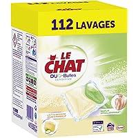 Le Chat Sensitive Duo-Bulles - Lessive Capsules - 112 lavages