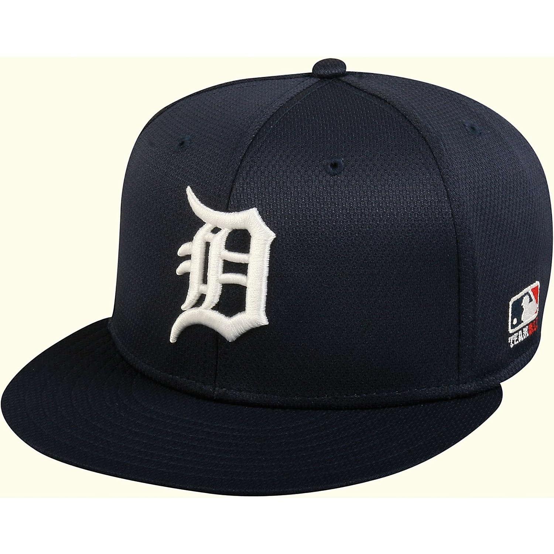 OCスポーツmlb-400 MLBメッシュベースボールキャップ – Detroit Tigers Home B07BD4DCGDネイビー 6 7/8\