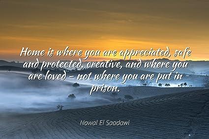 Amazon.com: Nawal El Saadawi - Famous Quotes Laminated ...