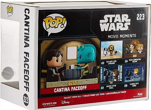 223 Cantina Faceoff Star Wars Pop Vinyl Figure Movie Moments Funko 23229