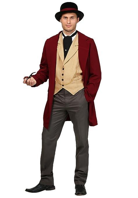 Victorian Men's Costumes: Mad Hatter, Rhet Butler, Willy Wonka Adult Riverboat Gambler Costume $59.99 AT vintagedancer.com