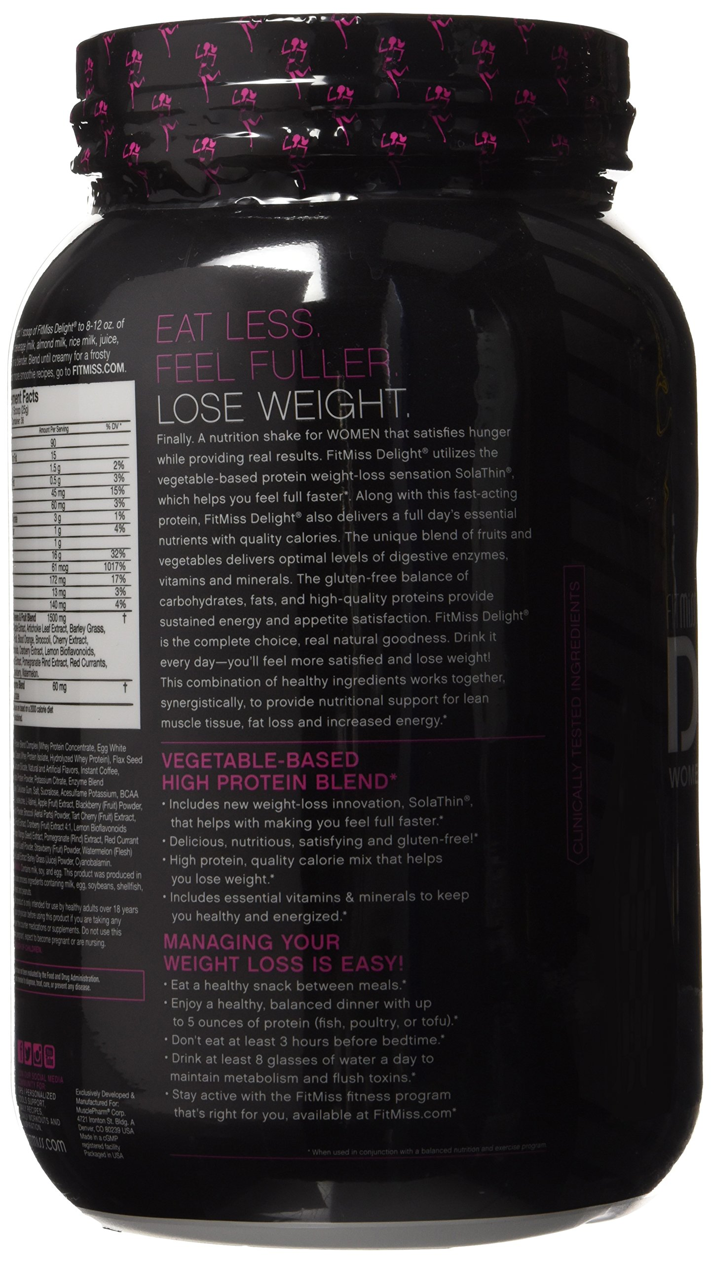 Fitmiss Delight Protein Powder Healthy Nutritional Shake